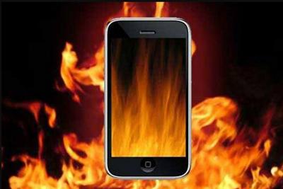 داغ شدن گوشی هوشمند