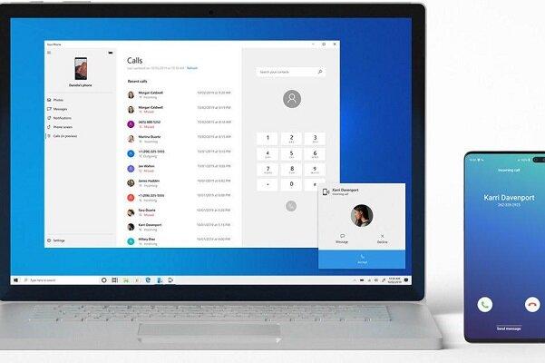 ویندوز ۱۰ به تماس گوشیهای آندرویدی پاسخ می دهد!