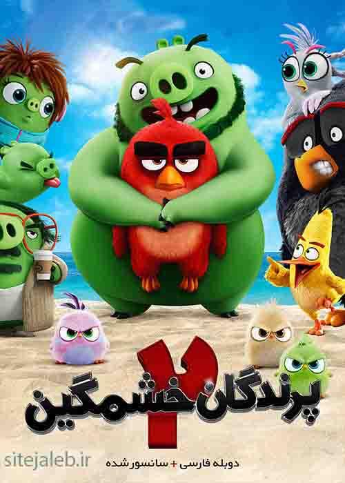 دانلود انیمیشن پرندگان خشمگین 2 - The Angry Birds Movie 2 2019 با دوبله فارسی