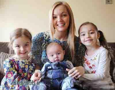 عجیب تݛین مادر جهان! به همراه سه دخترش