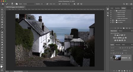 حذف سایه از عکس با استفاده از فتوشاپ