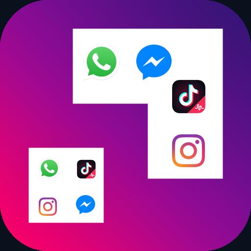 نرم افزار ساخت چند حساب کاربری شبکه اجتماعی اندروید Dual Space - Multiple Accounts and Parallel APP Pro آخرین ورژن