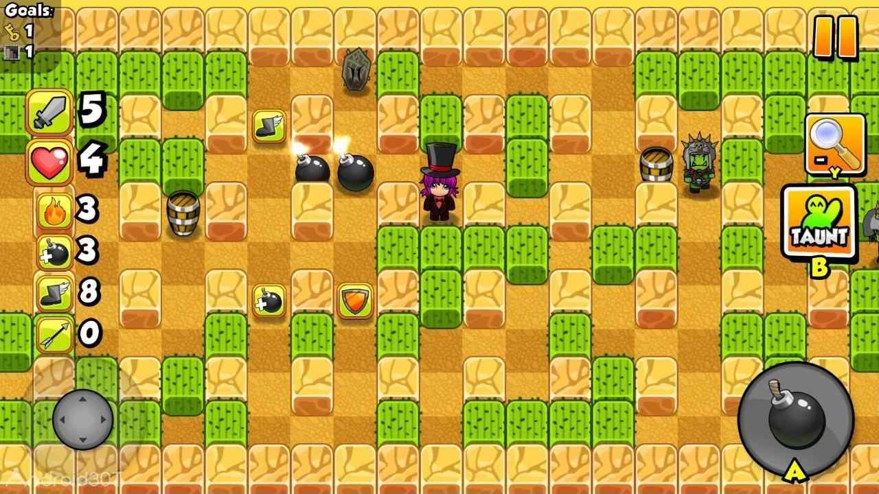 دانلود بازی Bomber Friends آخرین ورژن دوستان بمب افکن برای اندروید