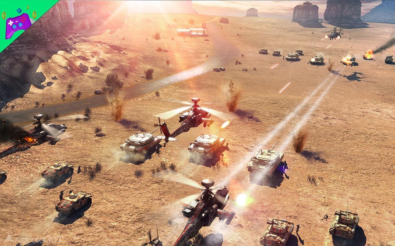 دانلود بازی Invasion: Modern Empire آخرین ورژن حمله: امپراطوری مدرن برای اندروید