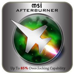 اورکلاک حرفه ای کارت گرافیک MSI Afterburner آخرین ورژن