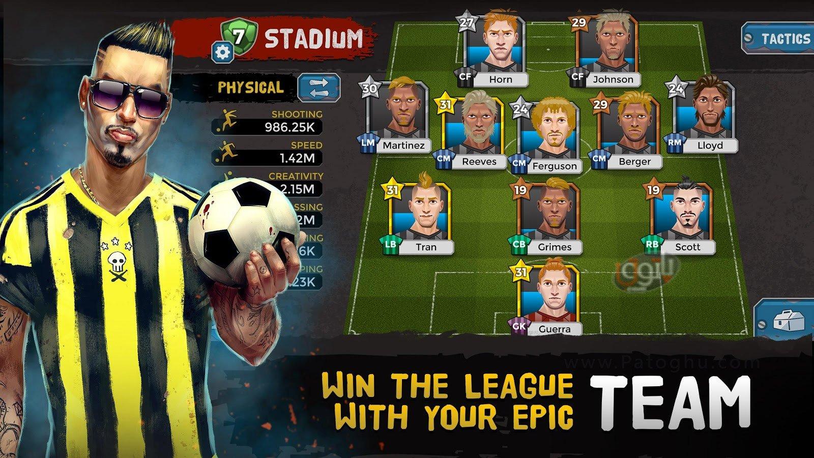 دانلود Underworld Soccer Manager برای اندروید