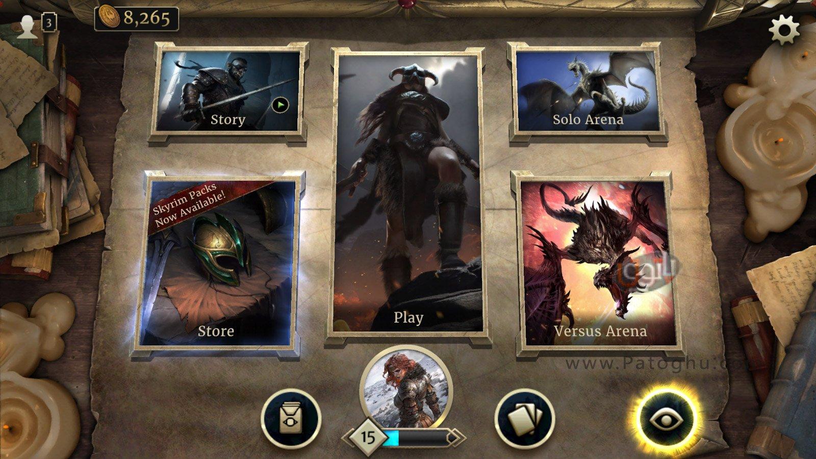 دانلود The Elder Scrolls: Legends- Heroes of Skyrim برای اندروید