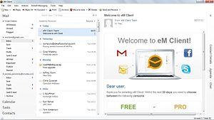 کلاینت ایمیل و مدیریت ایمیل برای ویندوز eM Client آخرین ورژن
