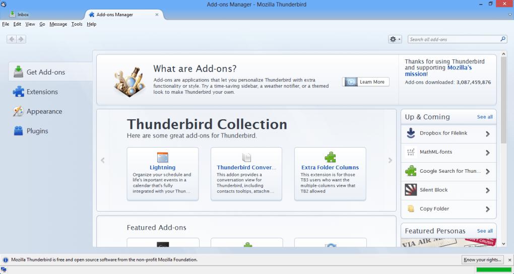 دانلود Mozilla Thunderbird ۀخرین ورژن موزیلا تاندربرد مدیریت ایمیل