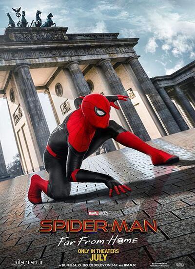 دانلود فیلم مرد عنکبوتی دور از خانه - 2019