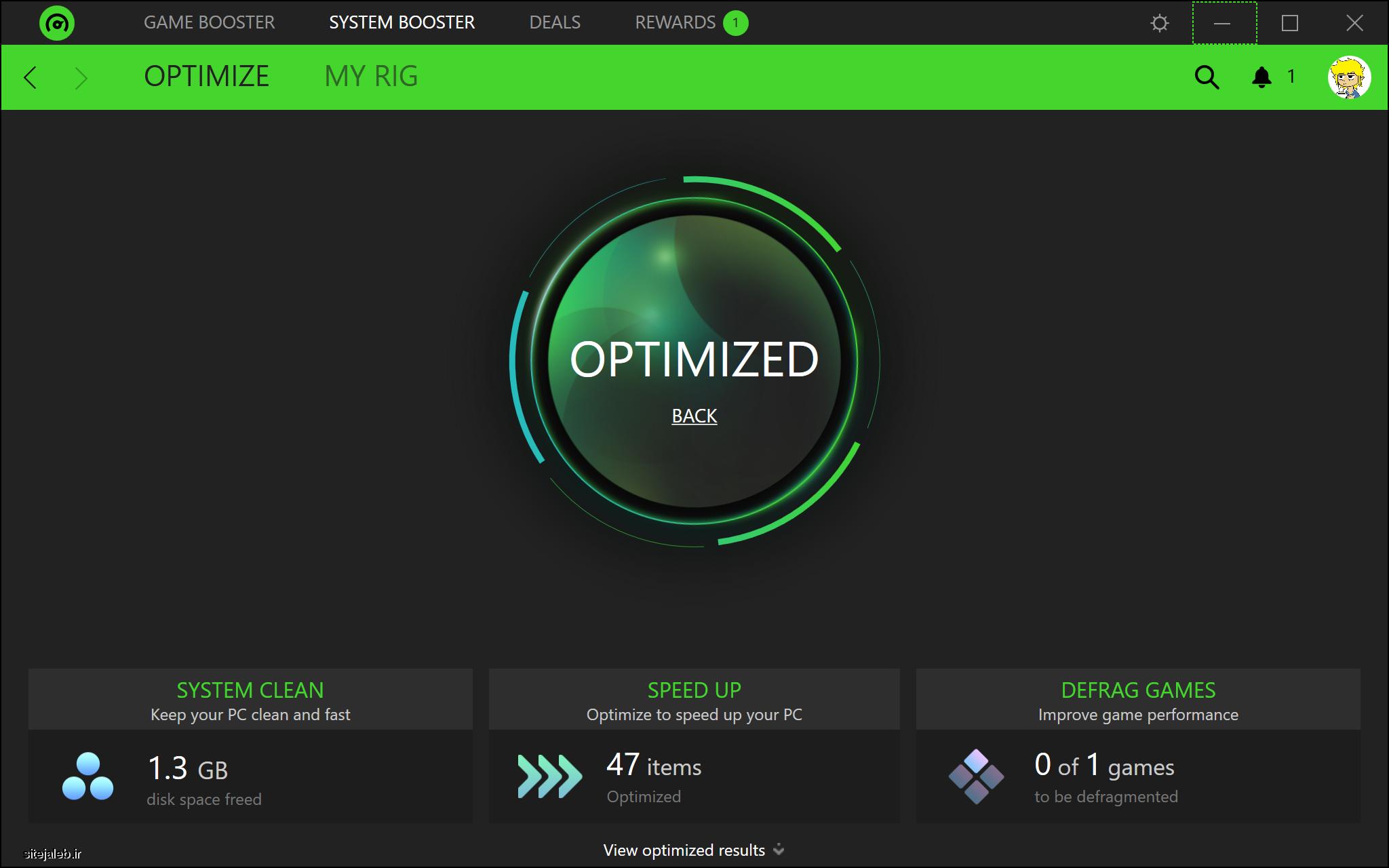 Razer Cortex آخرین ورژن کنترل و مدیریت بازی ها در ویندوز